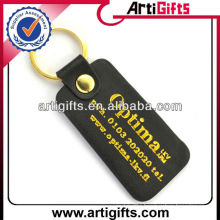 Cheap genuine leather keychain