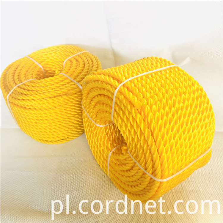 Yellow Pe Rope