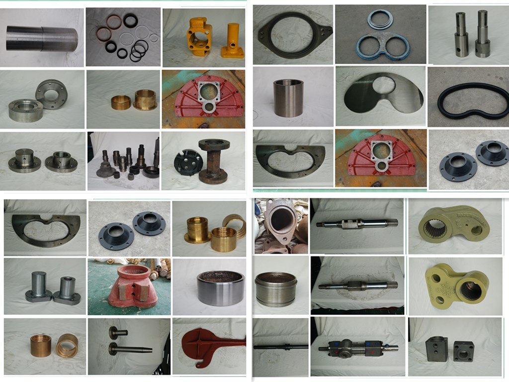 All kinds of Schwing Concrete Pump Parts