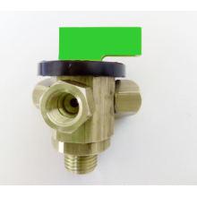 Der Teil der hydraulischen Membranventile (VHM)