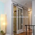 Puertas de espejo corredizas con marco de madera