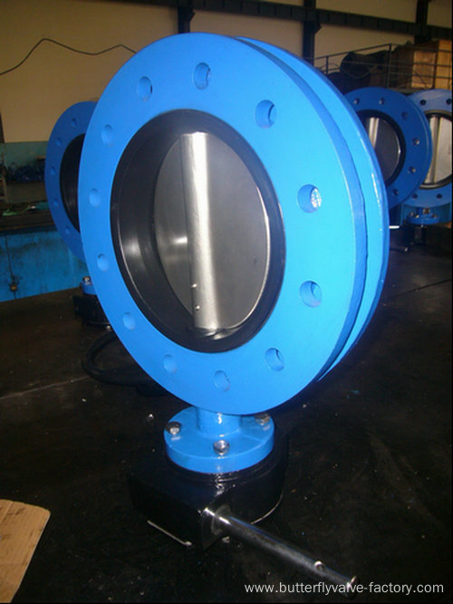 U-type Flanged Butterfly Valve