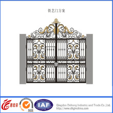 Fine Elegant Wrought Iron Safety Gate