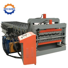 Automatic Double Layer Roof Tiles Cold Roll Forming Machinery