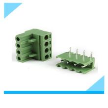 Фабрика 5.08 мм 4 контактный разъем на PCB терминальный блок