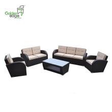 5 pcs Garden popular store wicker sofa set