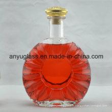 Bouteille de verre à vin Xo, bouteille en verre à alcool pour boissons alcoolisées