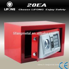 Coffret-caisse de sécurité numérique coloré bon marché