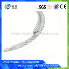 6x7+Iwrs Ungalvanized Steel Wire Rope