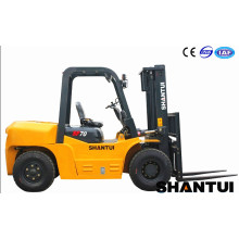 Customized for Container Forklift Truck 7 ton diesel forklift price with Japan engine export to Uruguay Supplier