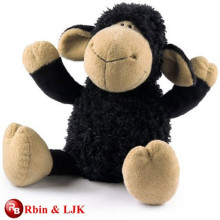 customized OEM design black sheep plush toy