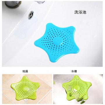 Bộ lọc Silicone Tóc Cather Starfish Shape Drain Cover