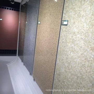 Panneaux composites en céramique et en nid d'abeille pour le revêtement de sol