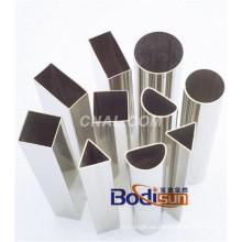 Tubo de Aluminio / Tubo Sin Costura 1050 1060 1070 1100 1154 1200 2014 2017 2024 3003 6061 6063 6082 7A04 7075 Tubo de Aluminio, Tubo, Flujo Paralelo Tubo Plano, Circular
