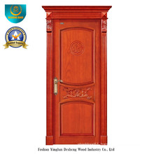 Chinese Style Solid Wood Door for Interior with Roma (ds-8035)