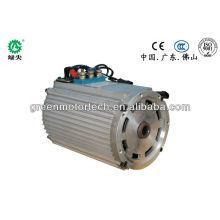 moteur électrique de voiture de haute qualité 7.5kw de voiture électrique à basse vitesse