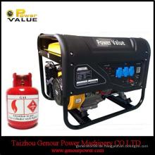 2.0KW dreiphasiger 4-Takt 168F manueller / elektrischer Anfang Benzingenerator