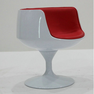Fibreglass+cup+shaped+chair