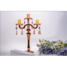 Золотой стеклянный подсвечник для свадебного оформления (три плаката)