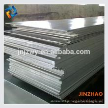 Placa de alumínio 6062 T6 6061 em máquinas