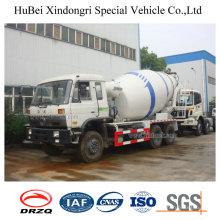5cbm Dongfeng Euro 4 4X2 Concrete Mixer Truck