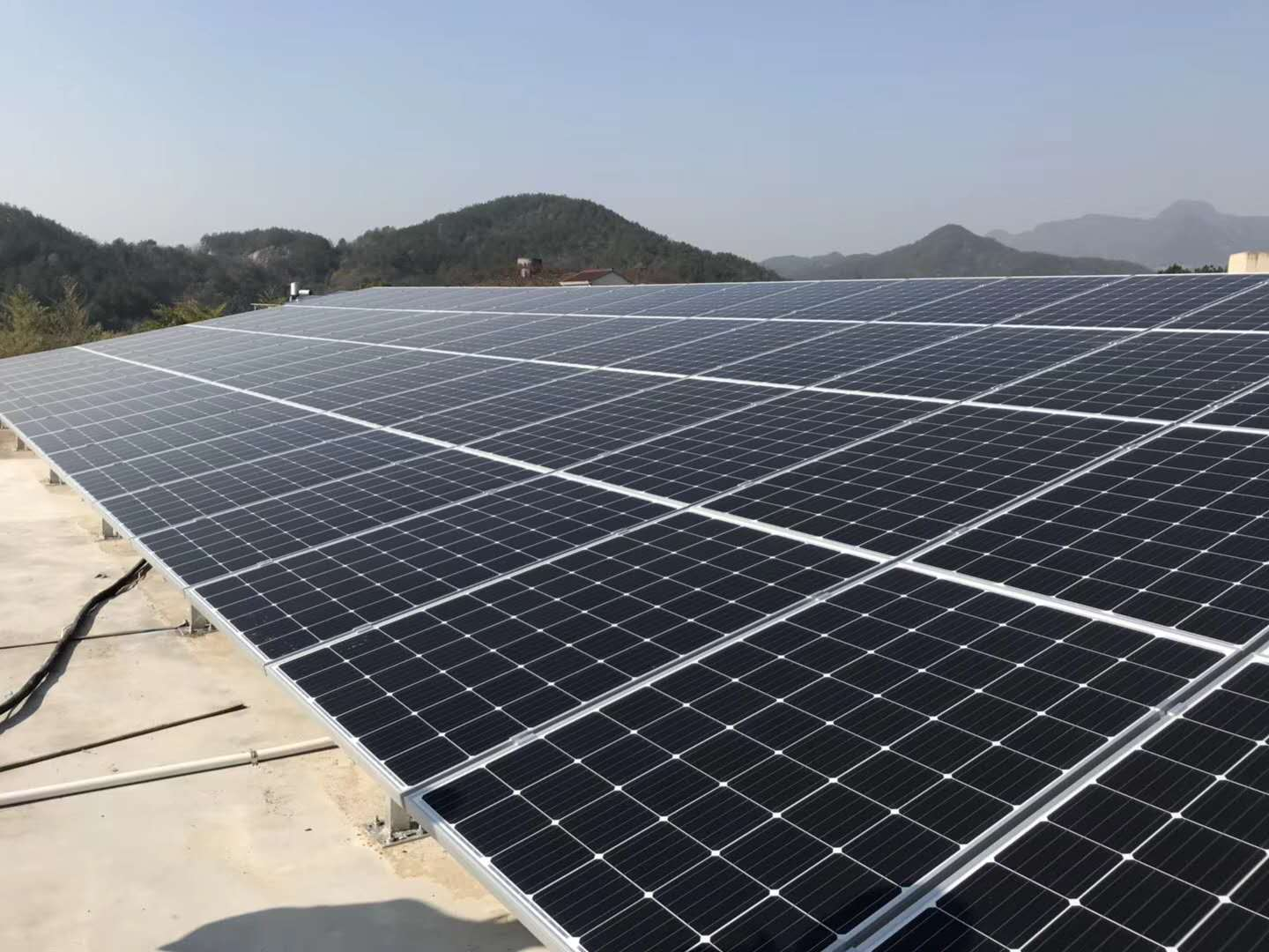 200KW Solar PV Roof