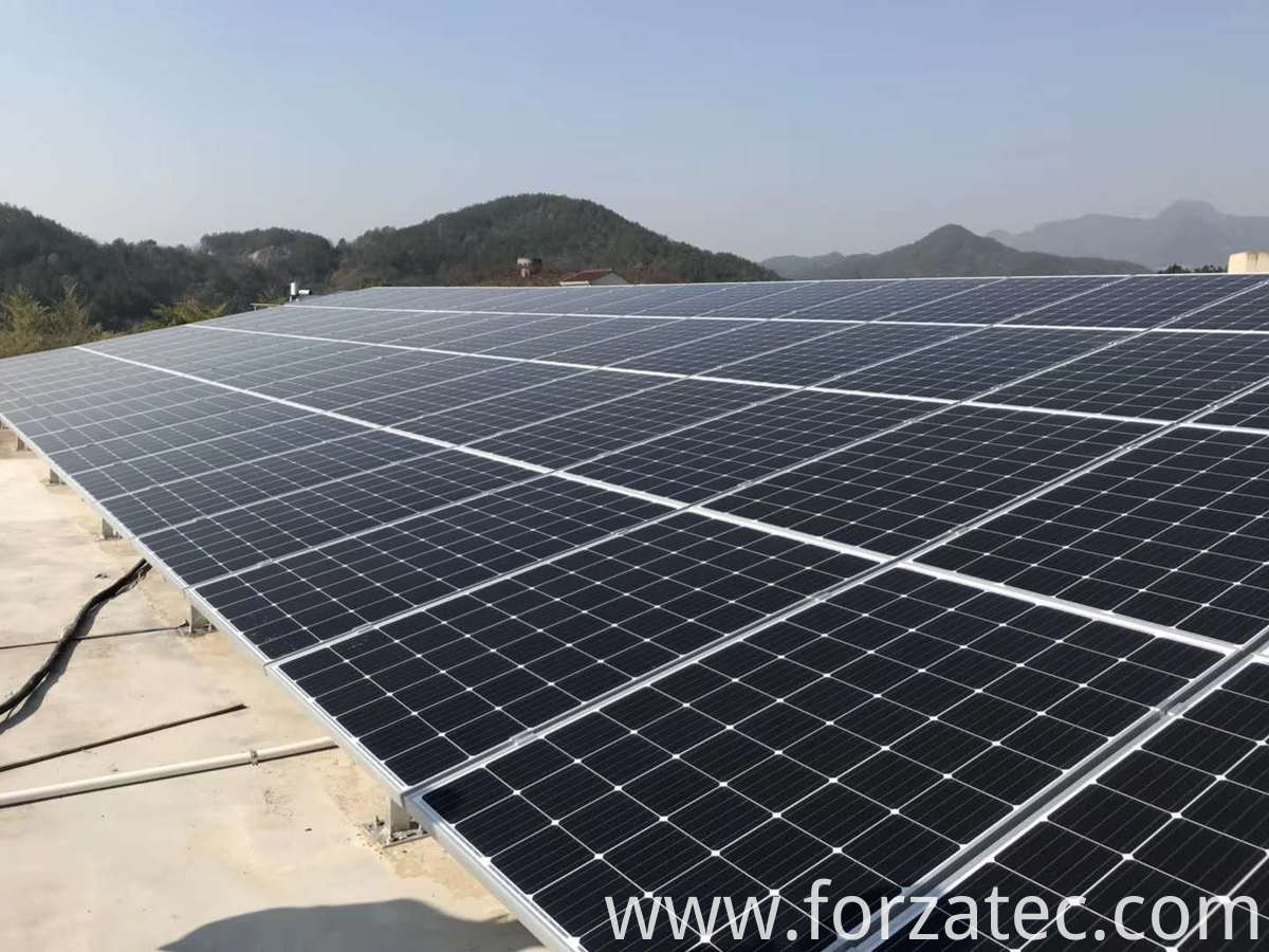 25KW Solar Photovoltaic Roof