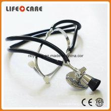 Medical Standard Black Dual PVC Tubing Fetal Stethoscope for Baby