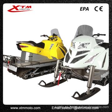 Potente nieve esquí LED luces adultos competir con una moto de nieve