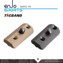 Tacband Taktischer Bipod Adapter für Keymod - mit Bipod Stud Tan