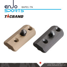 Tacband Tactical Bipod Adaptador para Keymod - com Bipod Stud Tan