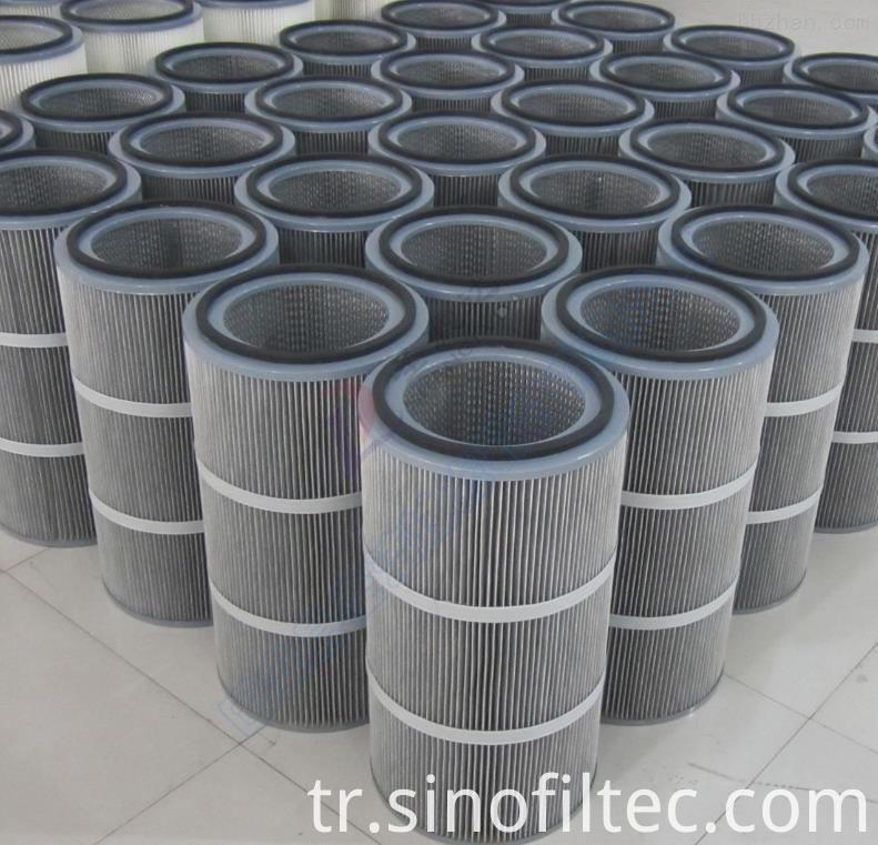 Antistatic filter element3