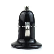 Single USB plug in car charger for smart phones output 5V 1A