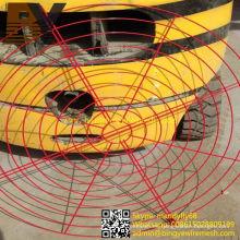Protector de ventilador recubierto en polvo de alta calidad