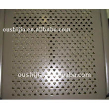 Triangle Opening Metal Sheet(factory)