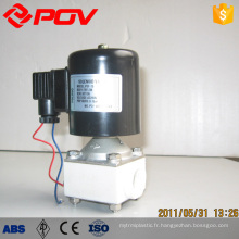 connexion de filetage interne de haute qualité en plastique solénoïde valve