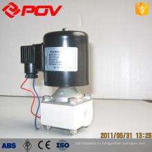 высокое качество Внутренняя резьба соединение пластиковый король электромагнитный клапан