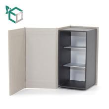 Высокое качество белый штемпелюя коробка подарка Логоса упаковывая