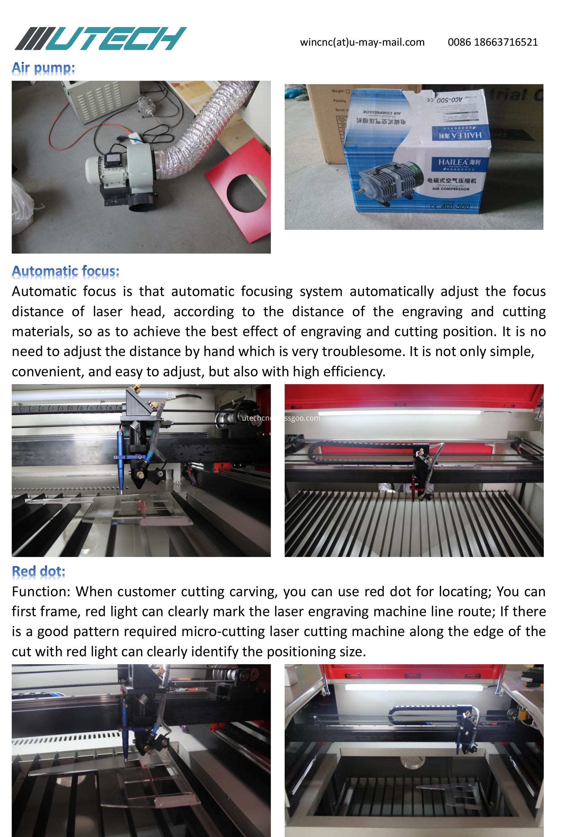 laser engraving machine 4060