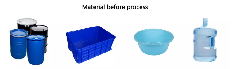 material before process