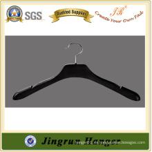 Venta al por mayor 43 cm de plástico negro colgante de plástico de color para la ropa