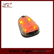 Moda Hel tático estrela 6 Bk luz capacete vermelho para venda