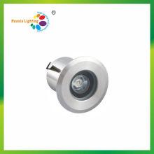1W Mini 62mm Diámetro LED Luz subterránea, luz enterrada