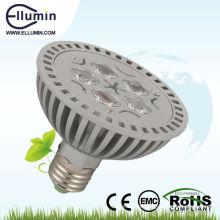 e27 5w proyector de alta calidad led par luz