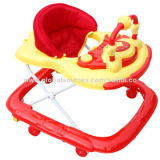Baby walker with canopy, new model