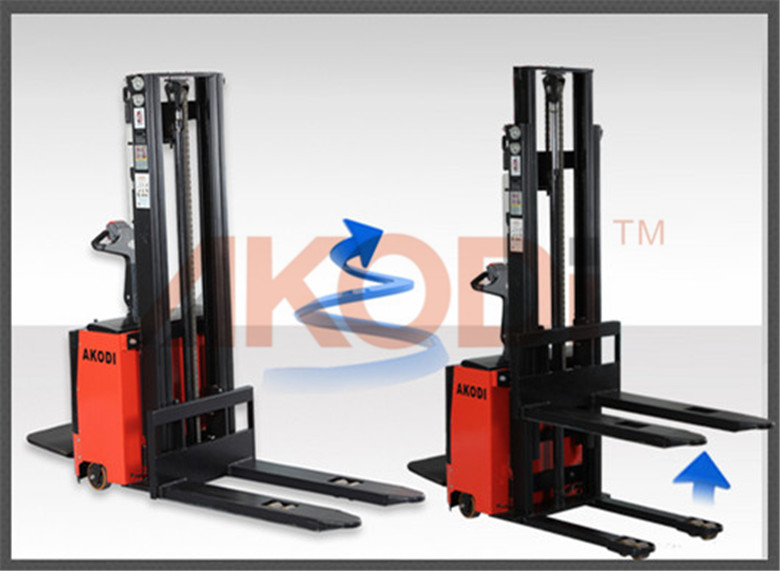 Straddle Electric Stacker