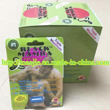 100% Authentic Original Black Mamba Triple Maximum Male Enhancement Pills (MJ-24 PILLS)