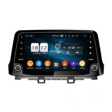Radio de coche con pantalla IPS para KONA