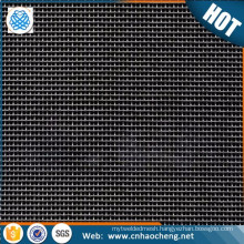 Pure molybdenum plain weaving square wire mesh for microphone