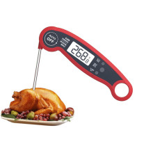 CE ROHS LFGB approved private label waterproof digital food thermometer with probedigital